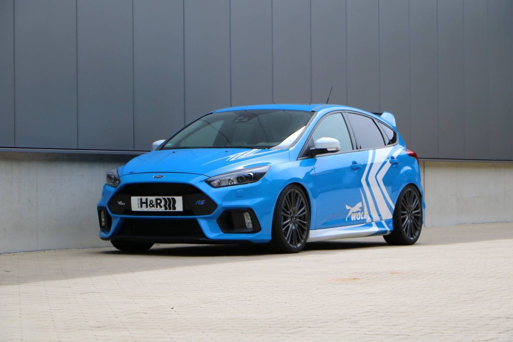 H&R тунинг за Ford Focus RS