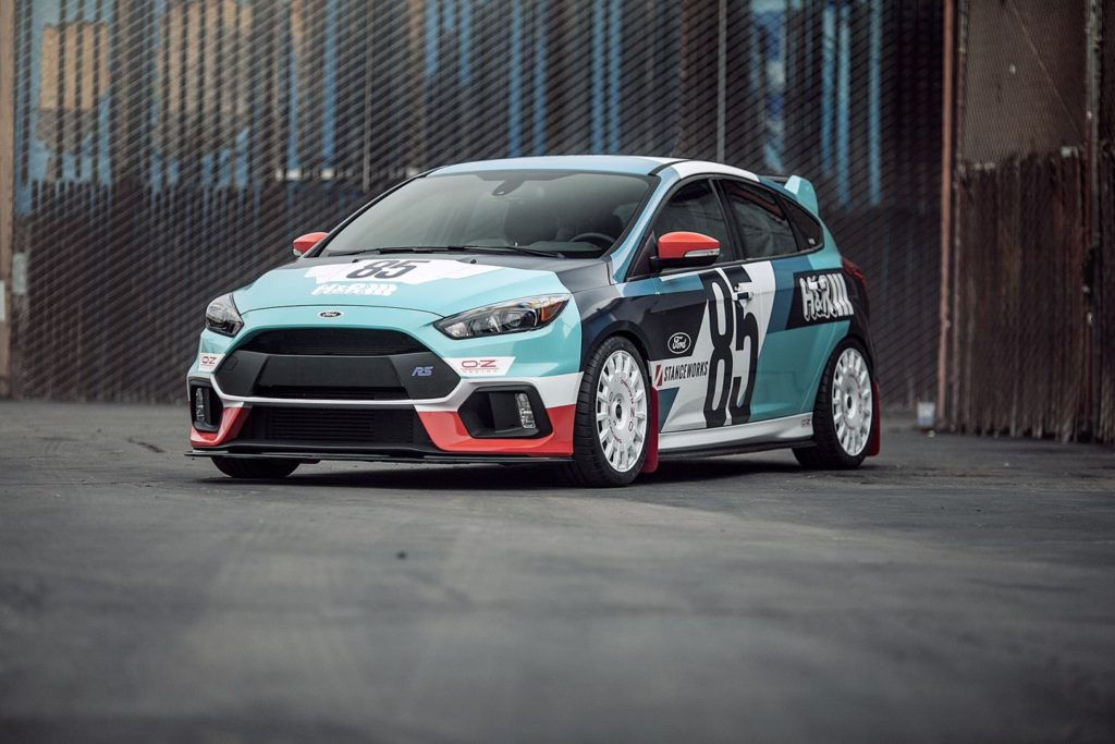 H&R тунинг Ford Focus RS