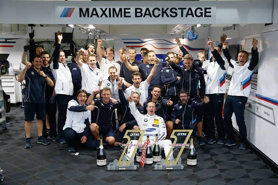 Победа за BMW Motorsport